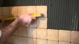 Кладка плитки своими руками фартук