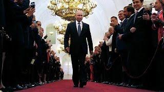 Putin toma posse como Presidente da Rússia pela quarta vez