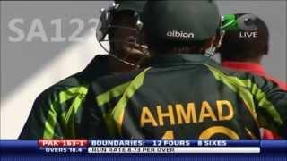 Ahmed Shehzad 98* vs Zimbabwe 2nd T20 2013 *HD*