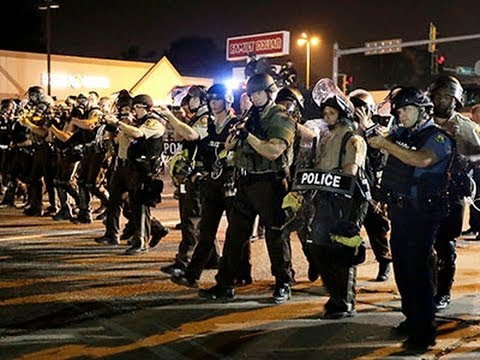 Police Blame Ferguson Violence on 'Criminals'