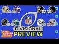 NFL Playoffs Divisional Round Preview | Good Morning Football | NFL Network MP3