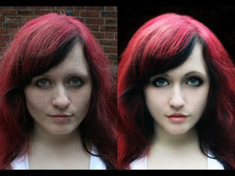 Photo retouch EXTREME in Photoshop XD