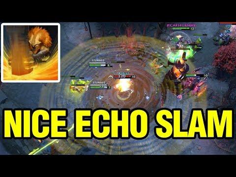 NICE ECHO SLAM - Ah Jit Plays Earthshaker - Dota 2