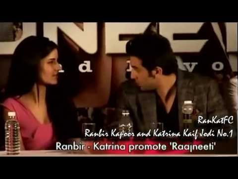 Ranbir Kapoor & Katrina Kaif at the Rajneeti Press Conference...