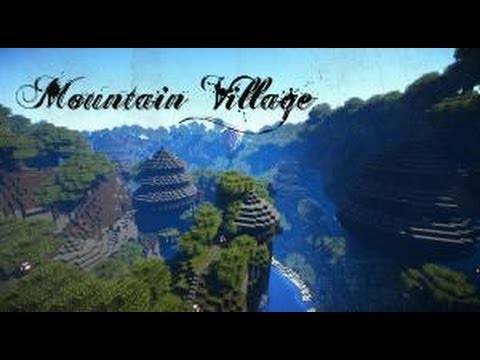 Minecraft Cinematic | Mountain Sky Village