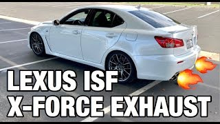 Lexus ISF X-Force Exhaust Review