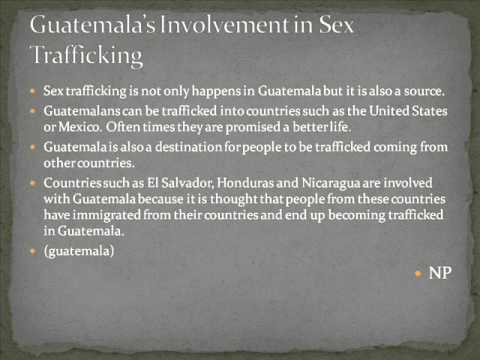 Global Slavery Awareness Campaign: Sex Trafficking In Guatemala And South East Asia video