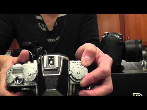 Nikon Df Review 2of3: Ergonomics compared with D700 and D4