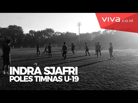 Intip Latihan Timnas U-19 Baru Asuhan Indra Sjafri