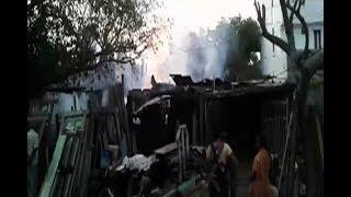 Fire Breaks Out Due To Short Circuit In Piduguralla At Guntur Dist