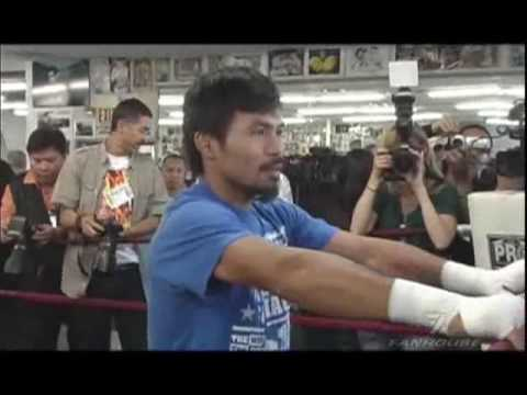 Manny Pacquiao and Freddie Roach On Mayweather, Clottey and Life Video
