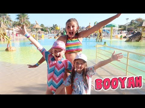 WATER PARK TAKEOVER! EURO ROAD TRIP DAY 18!