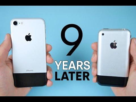 iPhone 7 vs Original iPhone 2G! 9 Year Comparison