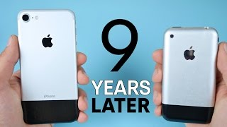 iPhone 7 vs Original iPhone 2G! 9 Year Comparison