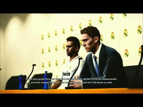 PES 2012 - Neymar in Real Madrid