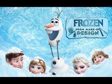 Frozen Walt Disney Company - Princess Elsa Makeup Design