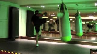 Darren Richardson Heavy Bag Kickboxing Trailer
