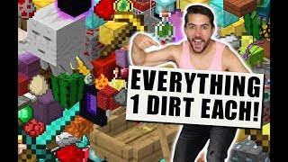 I Opened The World's First DIRT BLOCK Store