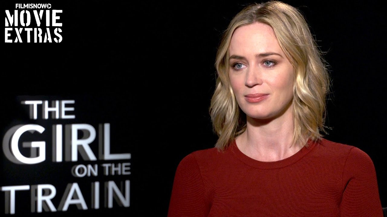 The Girl On The Train (2016) - Emily Blunt talks about her experience making the movie