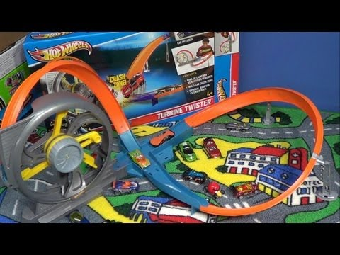 Hot Wheels Turbine Twister Track Set Product Review