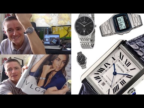 I Got My Wife Into Watches! Buying For Women, Wives & Girlfriends - Cartier, Casio, Hamilton & Seiko