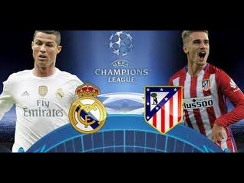 real madrid vs atlético de madrid por champions league en