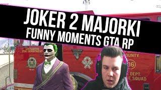 GTA RP | JOKER 2 MAJORKO  [ UCIECZKA PRZED POLICJĄ | 200 IQ | DELFIN ] | Funny Moments  from Fumfeel Shoty