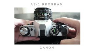 Canon AE 1Program (How to Use a SLR Film Camera) 如何使用底片單眼相機