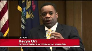 Michigan Gov. Puts (Detroit) Under Emergency Fiscal Management   3/15/13