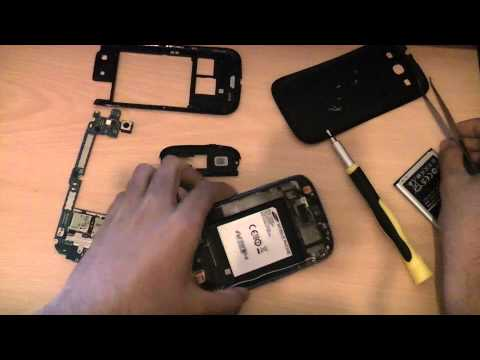 How To Disassemble And Assemble Samsung Galaxy S3