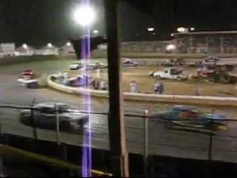 Pure Stock Feature Belle-Clair Speedway 6-26-09 Video