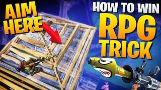 HOW TO WIN | Advanced Rocket Launcher Techniques (Fortnite Battle Royale)