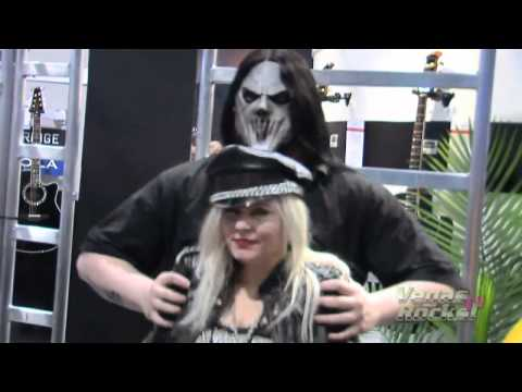 NAMM 2011 SLIPKNOT, WAYNE STATIC, CHEAP TRICK