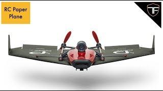 RC Motorised Paper Plane! - PowerUP FPV