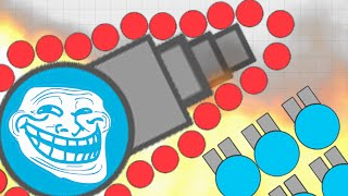 Diep.io Best Trolling With MAX Body Damage Revenge! (Diepio Best Moments)!