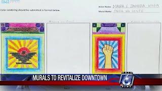 Corpus Christi downtown murals