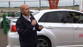 Subaru WRX STI - 4 Wheel Drive Demo.wmv