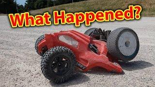 BMX Track 1 -- Traxxas Rustler VXL 0 -- Epic RC Car Bash