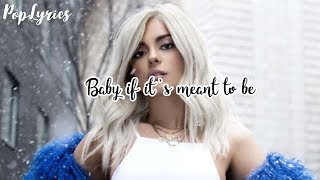 Download Lagu Bebe Rexha - Meant To Be (Solo Version) Lyrics Gratis STAFABAND