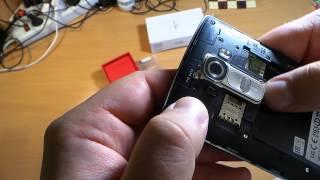 SiA распаковка мнение сравнение LG G4