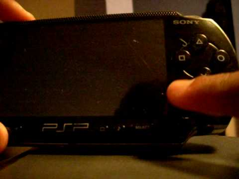 How to reset a PSP to factory settings