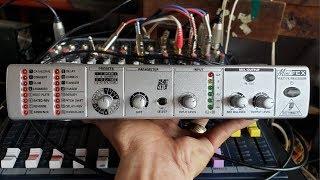 Test Echo Reverb Rời, Behringer FEX 800