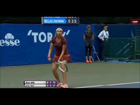 Cara Black/ Sania Mirza vs Casey Dellacqua/ Lisa Raymond 2014 - Highlights - Toray Pan Pacific Open