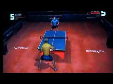 Wii Table Tennis Video