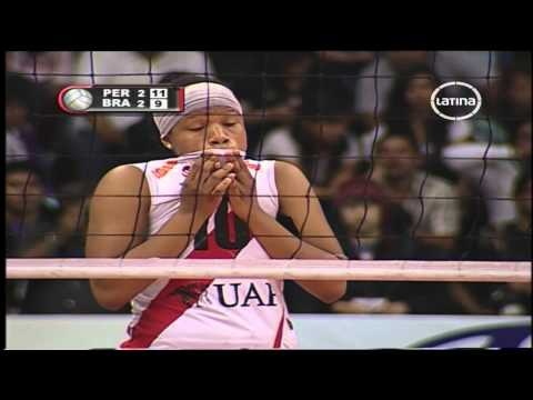 PERU CAMPEON SUDAMERICANO DE VOLEY 2012 HD ( PERU Vs BRASIL) QUINTO SET GRAN FINAL ✔
