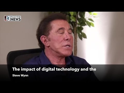 Steve Wynn on the role of digital technology in gaming