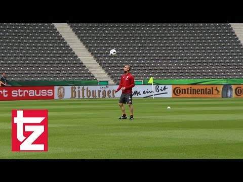 FC Bayern: Letztes Training von Pap Guardiola - DFB-Pokalfinale - FC Bayern vs. Borussia Dortmund