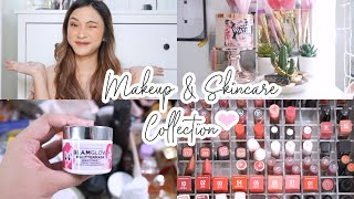 MAKEUP & SKINCARE COLLECTION + My Fave Products + Mini Review (2019)
