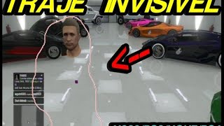 GTA V ONLINE Glitch do traje invisivel PS3/X360