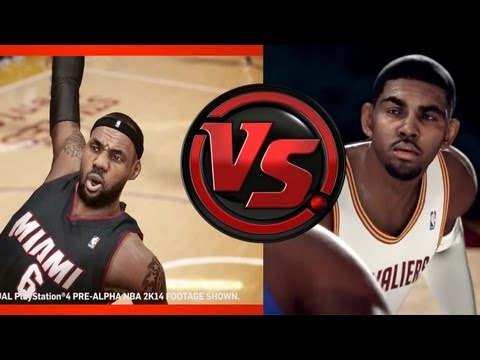 nba live 14 vs nba 2k14 next gen gameplay review ps4